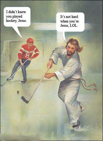 Hockey Jesus