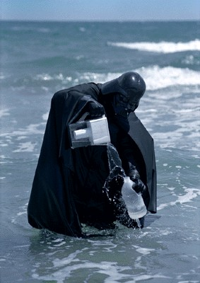 Darth Vader Water Filter